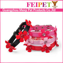 Handmade Flower Decorate Dog Collar Bulk for Small Pet Dogs