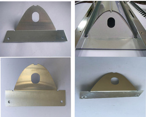 Top quality metal Sheet aluminum Lampshade lighting spare parts