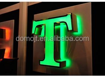alibaba wholesale lighted alphabet metal letter signlight up letters for signbacklit led