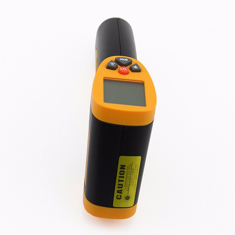 HT-826 Laser LCD Digital IR Infrared Thermometer Temperature Meter Gun Point  50~380 Degree Non Contact Thermometer