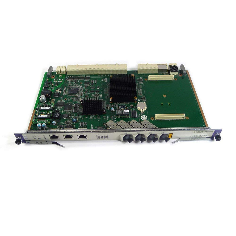 Generic SCUN uplink control board for MA5680T OLT with 4 uplink ports.