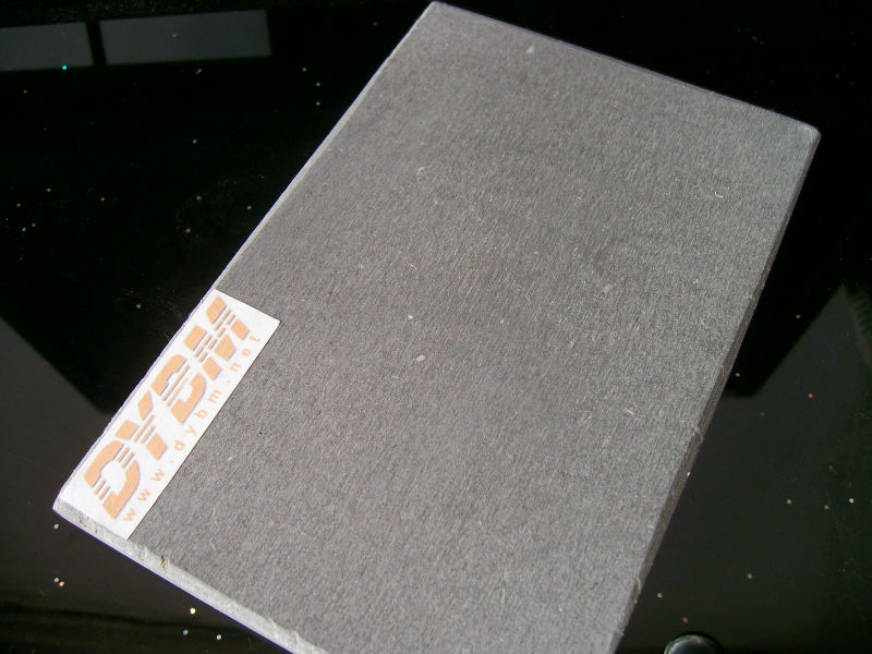 FC concrete composite acoustic board