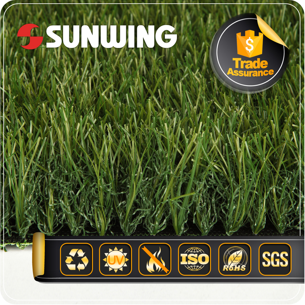 Hot products earth friendly customized synthetic grass for home
