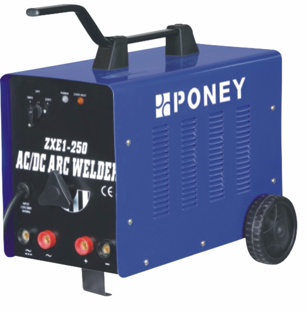 TRANSFORMER AC/DC ARC WELDING MACHINE ZXE1-200 PONEY