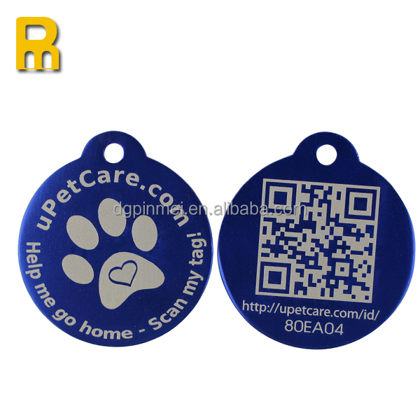Custom Shape Pet Id Tag Wholesale anodized Aluminum Blank Various Designs cool Dog ID Tag