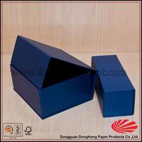 new color foldable pencil box set/ paper pen box wholesale