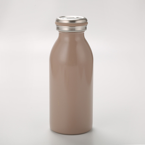 T034 350/500ml milk vacuum cup 304/201stainless steel drinking water bottle 2 Capacity Hot Water Bottle