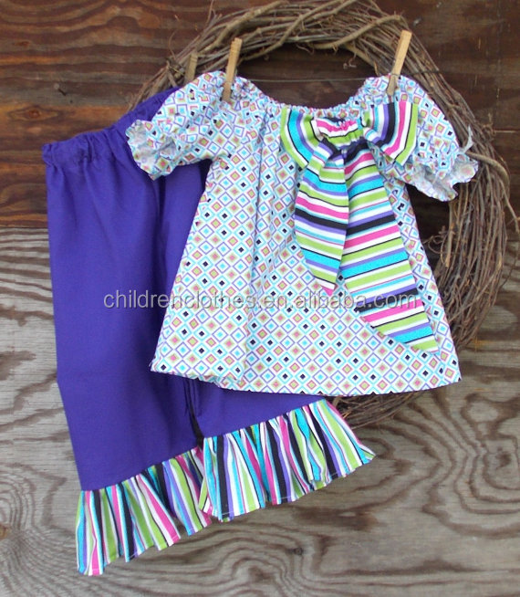 Top Sale Giggle Moon Remake Outfits Baby Girl Leggings Girls Spring Sets