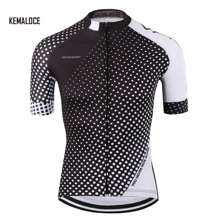 KEMALOCE pro plain black breathable original <strong>cycling</strong> jerseys clothing sublimation bicycle shirt