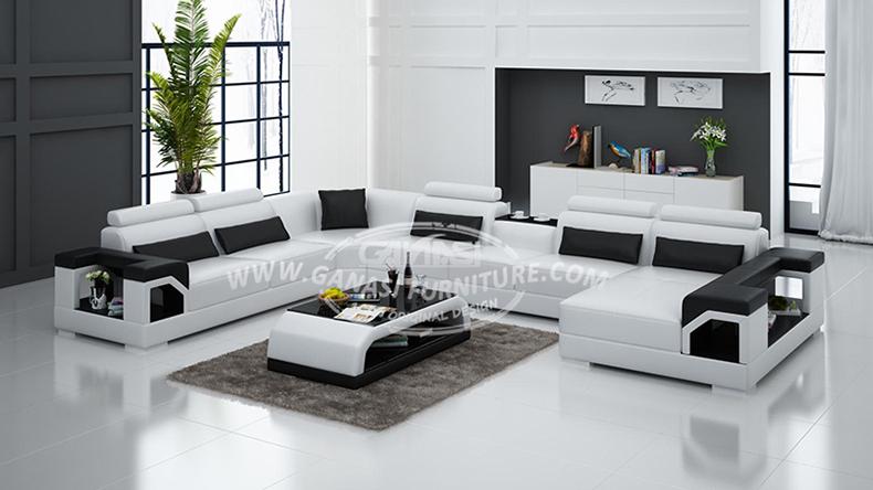 Made in china italian leather sofa modern design leather - El mejor sofa ...
