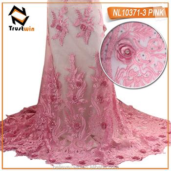Flores en tela para vestidos de fiesta