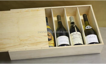 6 Bottles Wine Boxes Wooden For Sale Decorative