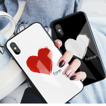 new concept 3519c e15f8 Best Buy Love Heart Tempered Glass+tpu Back Phone Case For Iphone X Xs Xr  Xs Max,3 Colors Available - Buy Love Heart Phone Case For Iphone Xs,Love ...