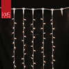 Alibaba china rubber cable christmas outdoor curtain lights for building decoration
