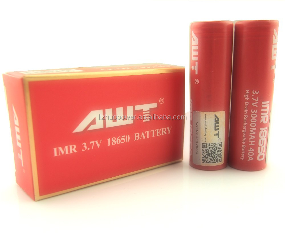 Awt 18650 Battery 40a 3000mah Rig V2 Able Mod Clone Copper Mod By ...