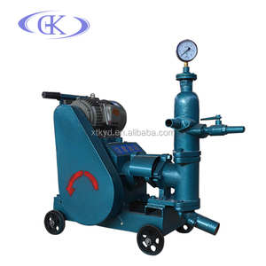 Support wholesale order HUB3.0 mortar pump Cement backfill grouting pump New horizontal bar piston mortar pump
