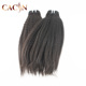 Made in india wholesale 3 bundles kinky straight peruvian hair,human hair extensions cuticle aligned kinky straight hair