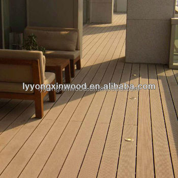 Promotional sale wpc composite wood planks outdoor decking for Composite decking sale