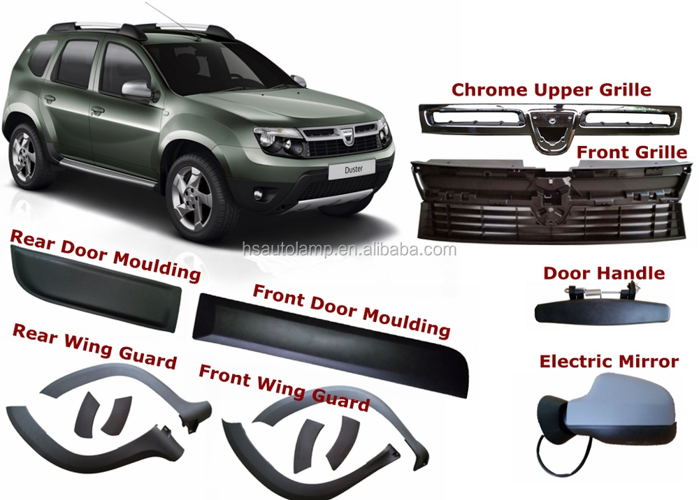 car accessories renault duster