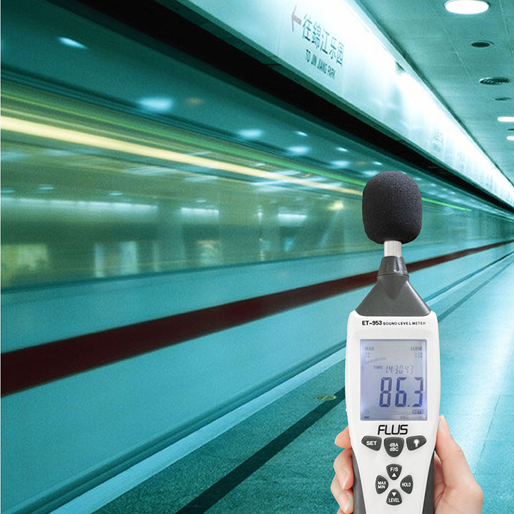 High Precision Household Handheld Decibel Digital Lcd Sound Noise Level Meter