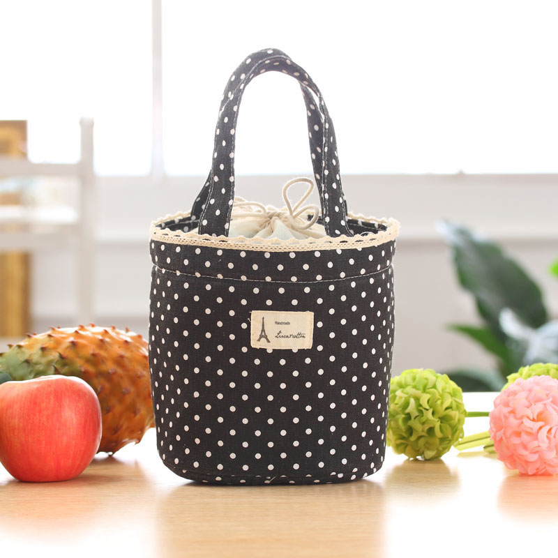 lunch bag for women Ladies Thermal Insulated Lunch Box Tote Cooler Bag  Bento Pouch Lunch Container bolsa feminina #3