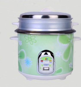 2018 Hot Sale Cylinder Flower Patterns Non Stick Coating Inner Pot Electric Rice Cooker