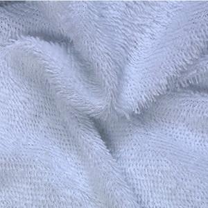 Organic bamboo terry towel fabric