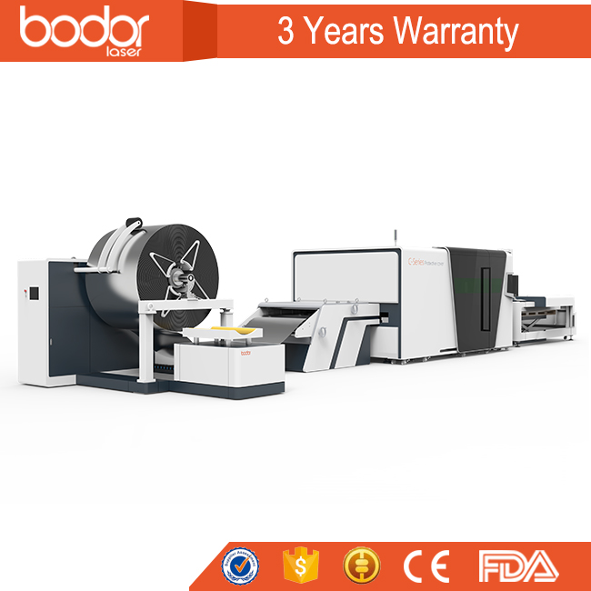 high quality small coil metal laser cutting machine for sale