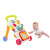 High quality plastic pushing baby trolley walker with music