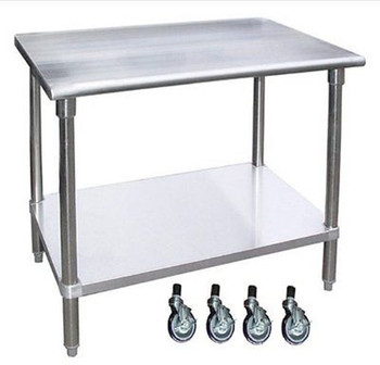 Wondrous Commercial Kitchen Equipment Stainless Steel Workbench With 4 Wheels Buy High Quality Stainless Steel Workbench Workbench With 4 Wheels Commercial Andrewgaddart Wooden Chair Designs For Living Room Andrewgaddartcom