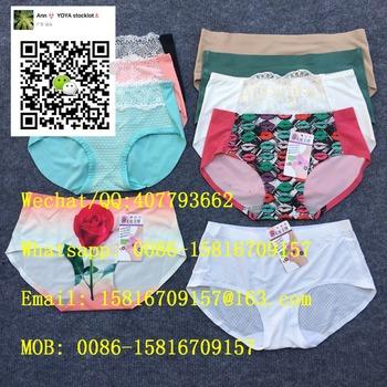 5b3acd1f677 Vietnam Multi Colors Ice Silk Womens One Piece Seamless Panties ...
