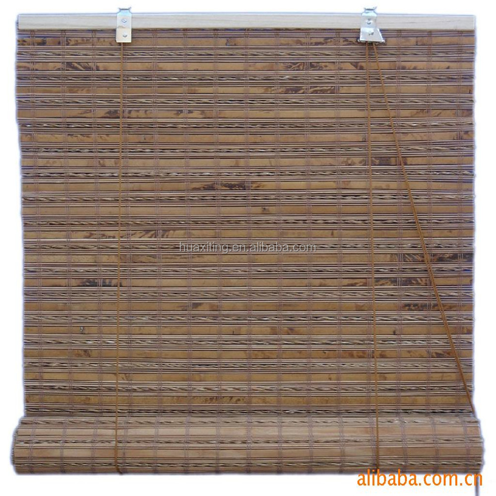 Bamboo Curtain Woven By Lafite Grass Outdoor Bamboo Roll Up Shades