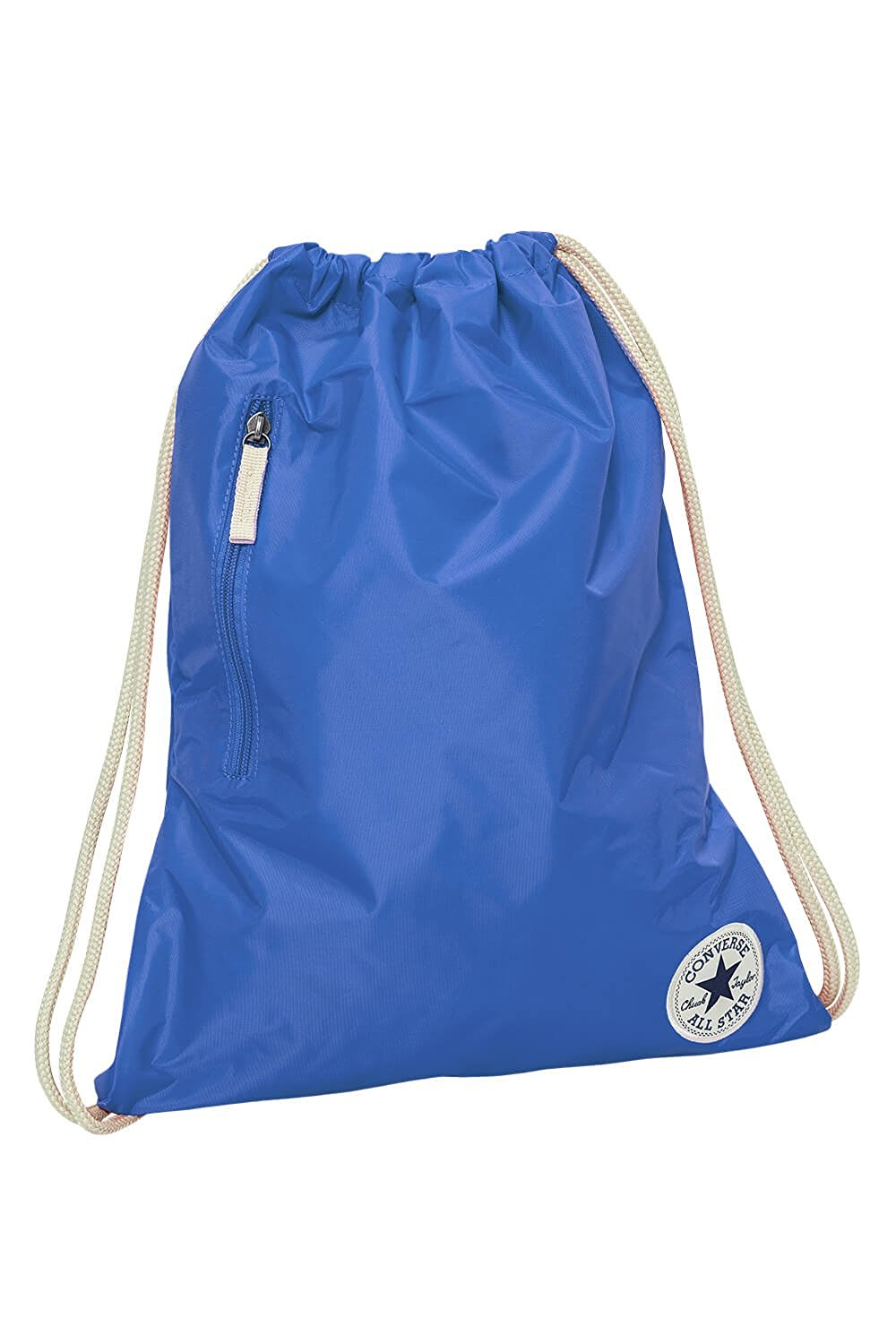 b5c6efdfe80 Get Quotations · Converse Core Poly Cinch Gym Bag - Oxygen Blue