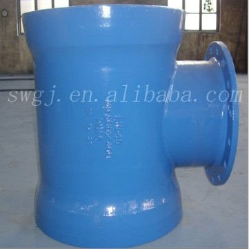 Pipe fitings--double socket tee with flanged branch&BSEN545