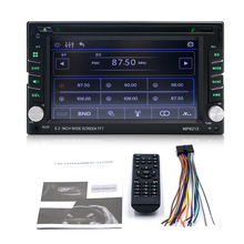 6.2 Inch 2 Din Zonder Gps Bluetooth <span class=keywords><strong>Auto</strong></span> <span class=keywords><strong>Cd</strong></span> Dvd-<span class=keywords><strong>speler</strong></span> Met Tv Fm Iso Usb Aux Rc