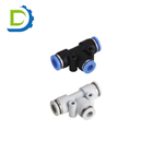 Pneumatic PEG model 8mm to 6mm Components Cross Way Connecting 8 Swivel Air Fitting