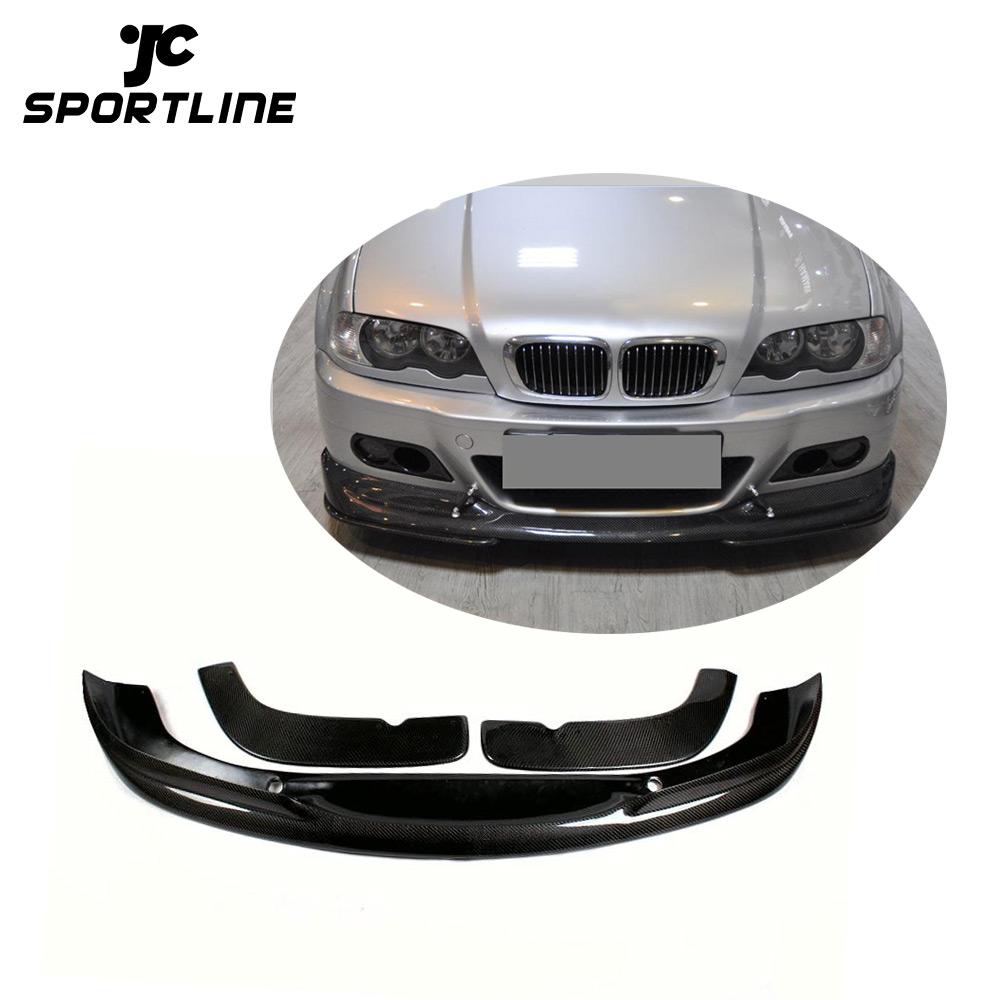Carbon Fiber Ac Style Front Lip Spoiler Bumper Kits For Bmw E46 M3 Buy E46 Front Lip Carbon M3 Ac Style E46 Front Lip Spoiler For Bmw For Bmw E46 M3