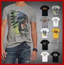 Moderní pánské tričko s různými vzory z Aliexpress