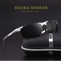 New Brand High Quality Polarized Mirror Men's Sunglasses