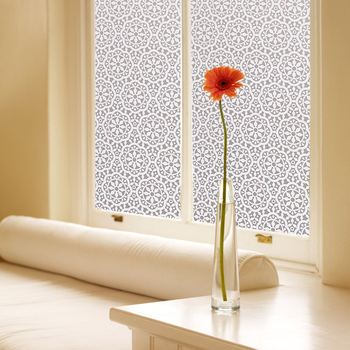 Chinese characteristics Lace Flower electric tint pvc stretch ceiling film