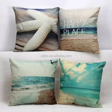 Throw pillow nature linen fabric cheap cushion cover small quantity accepted