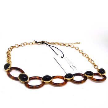 Acrylic Chain Link Necklace