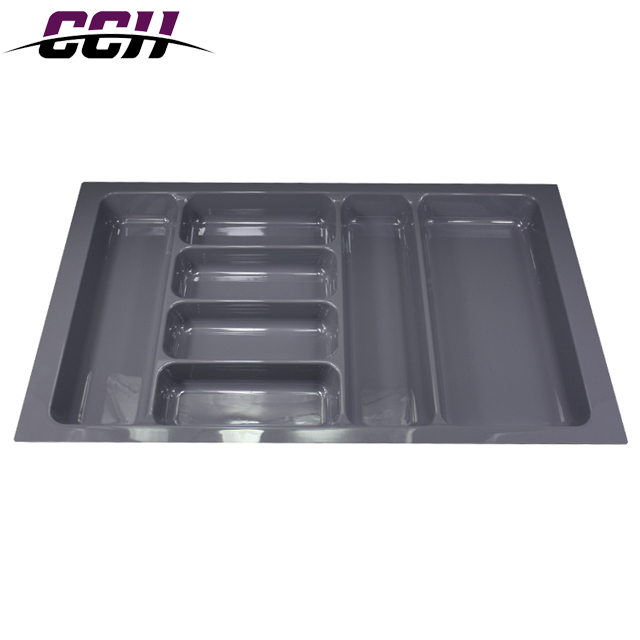 Direct selling plastic kitchen drawer dividers cutlery tray