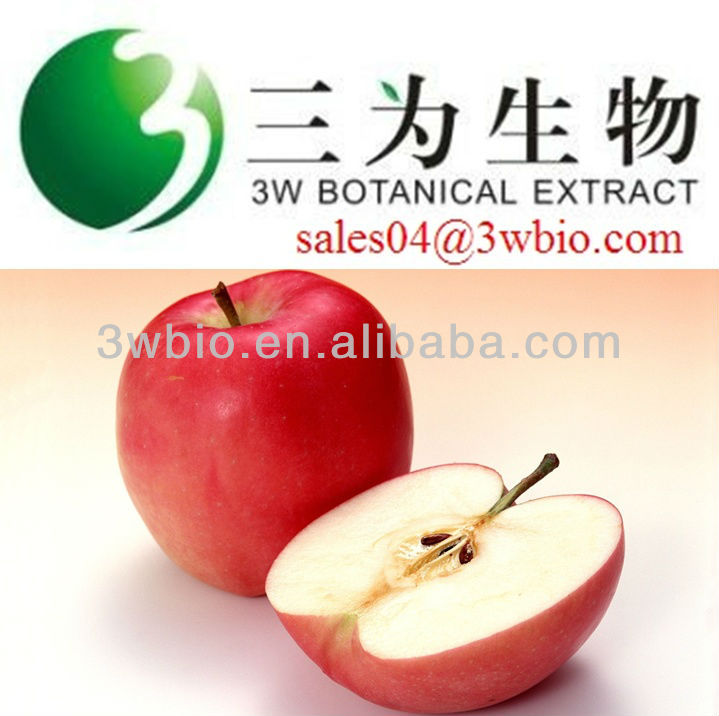 Supply high quality 98% phloretin CAS 60-82-2 apple root extract