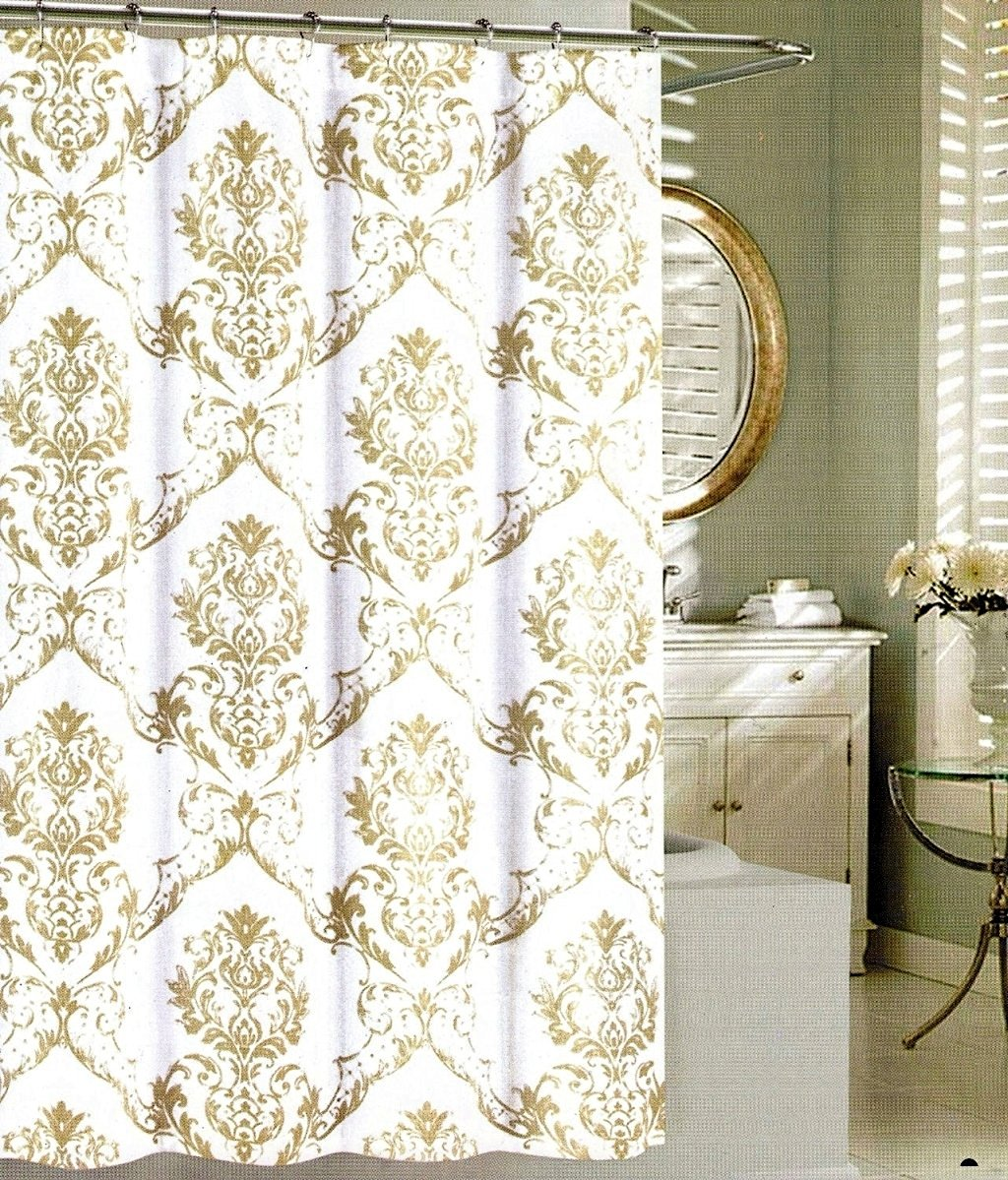 Buy Tahari Home Diamond Damask Black On White Fabric