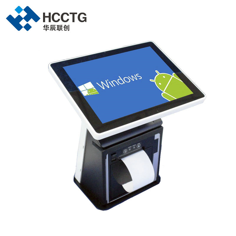 11.6inch Windows Android Dual Touch Screen Retail All In One POS System HKS10-B