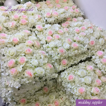 White and pink color stage background fabric flowers for wedding white and pink color stage background fabric flowers for wedding decoration wholesale mightylinksfo