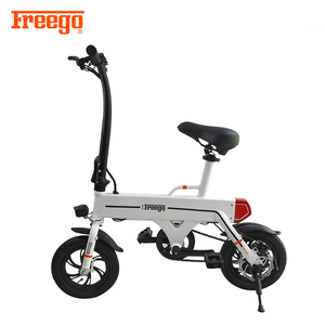 Freego 2018 36v 250W battery low price mini electric folding tricycle for adult