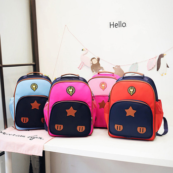 2017 Wholesale New School Supply High Quality Backpack Kids Cute
