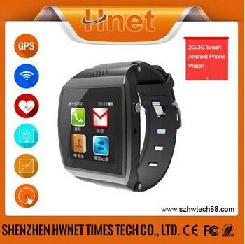 2014 best selling quad band bluetooth dialer GSM bluetooth bluetooth fashion watch mobile phone